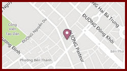 Little Saigon Boutique Hotel's Map